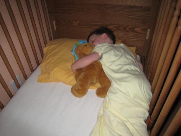 sleeping Elliot